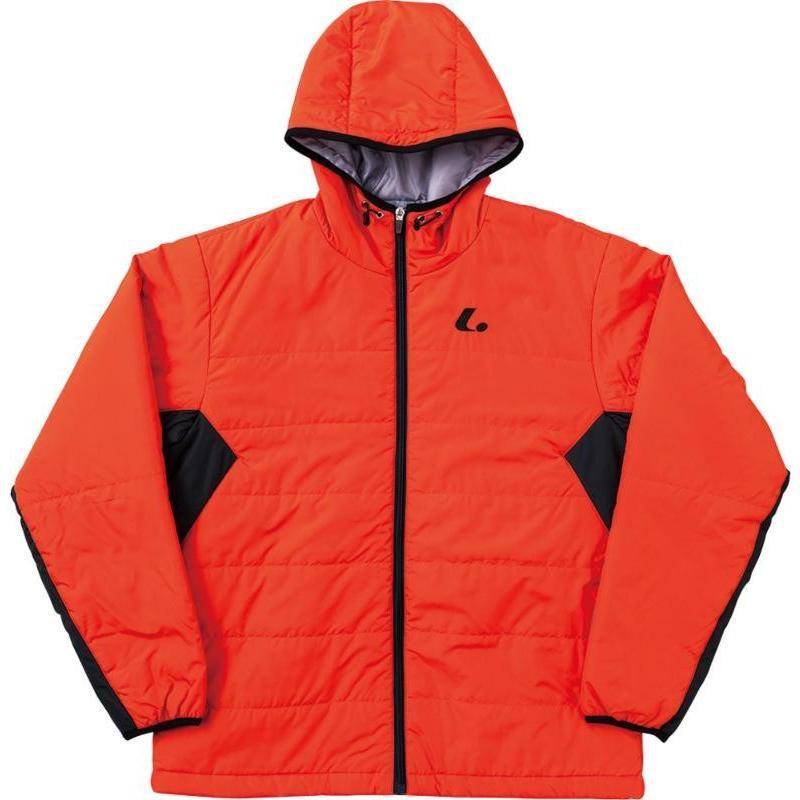 LUCENT(ルーセント) 【男女兼用 テニスウェア】 パデッドジャケット オレンジ ユニセックス XLW3122 XLW3122 オレンジ M