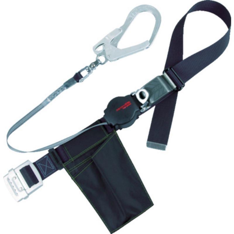 ツヨロン ワンハンドリトライト安全帯 黒 L寸 ORL-593SV-BLK-L-BP コムロード - 通販 - PayPayモール