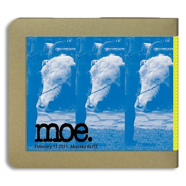 モー moe./2011.02.11 東京 / 3CD(-R) ホイホイレコードだけ販売 ジャム hoyhoy-records