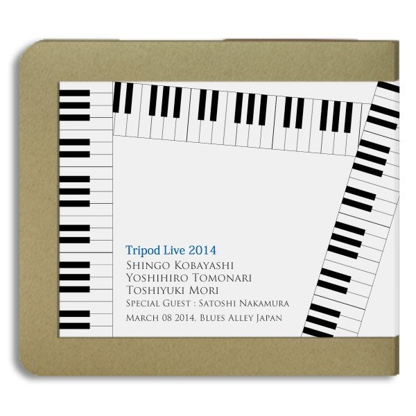 小林信吾・友成好宏・森俊之/トライポットTripod/2014.03.08/ 2CD(-R):ホイホイレコードだけ販売|hoyhoy-records