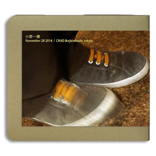 小野一穂 / 2014.11.28 / CHAD -ホイホイレコードだけ販売:男性SSW hoyhoy-records