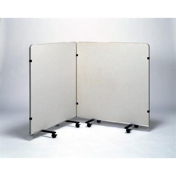 アートギャラリー展示パネル(展示板·パーティーション)1200×1500:背低型 ピクチャーレール無タイプ(HSS-P)※写真は1200×1200です 予約