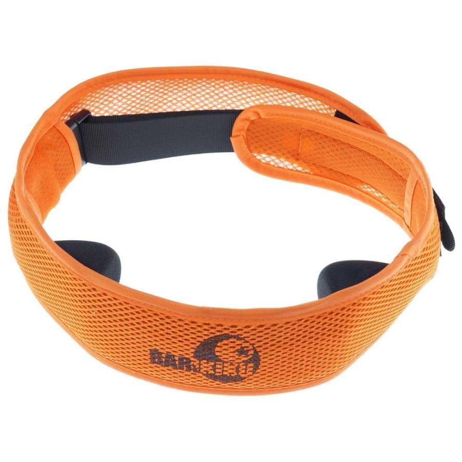 (送料無料)BARIKIKU 腰用指圧サポーター オレンジ