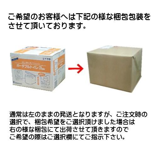 ポータブルトイレ 山崎産業 ポータブルトイレP型 カラー/ホワイト サービス品付 PT-P11(送料無料)|hstsuge|03
