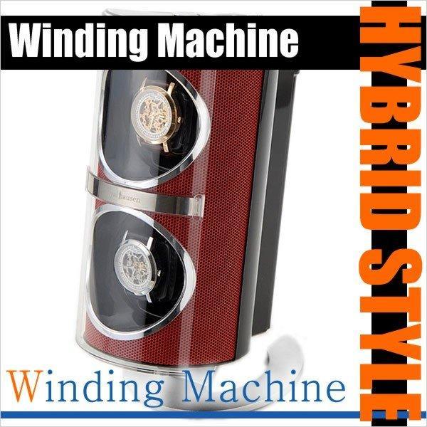 【待望★】 ジェベリー ワインディング マシーン 腕時計ケース Jebely Winding Machine ケース KA091RD メンズ レディース ユニセックス 男女兼用, 豊田市 862bdfb9