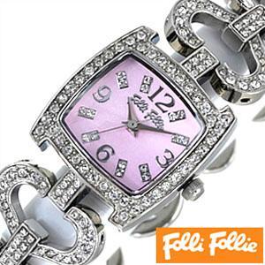 【着後レビューで 送料無料】 フォリフォリ 腕時計 FolliFollie 腕時計 レディース WF5T120BPP FolliFollie レディース セール, 蒲江町:8a7e8d74 --- airmodconsu.dominiotemporario.com