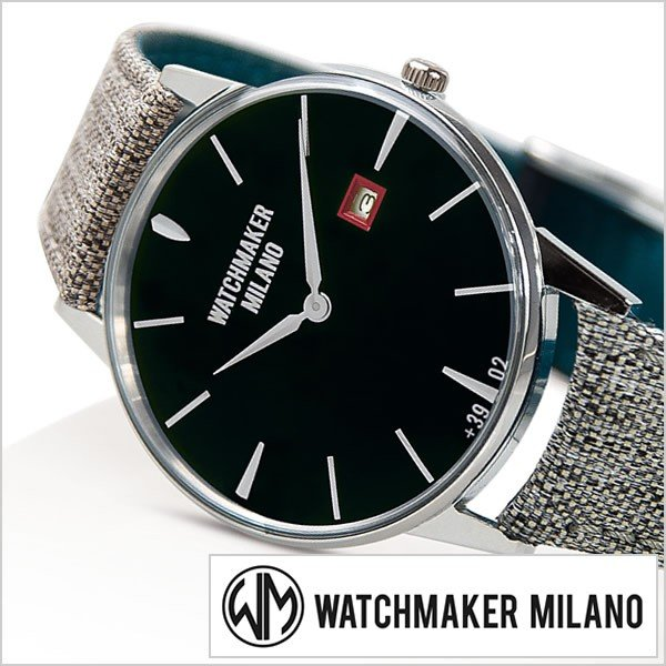 【破格値下げ】 ウォッチメーカー ミラノ 腕時計 WATCHMAKER MILANO アンブロジオ MILANO 時計 アンブロジオ WM-00A-01 WATCHMAKER メンズ レディース, ホップスターウェラワン:e16721b0 --- airmodconsu.dominiotemporario.com