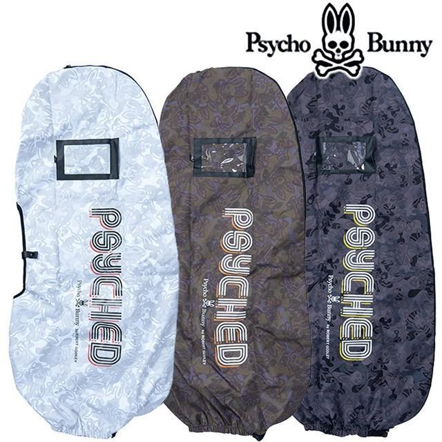 サイコバニー ゴルフ 2019 Psycho Bunny PB モノグラムES トラベルカバー PBMG9FE4 (ゴルフバッグ ゴルフ用品 ゴルフ トラベルケース)