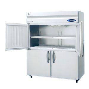 【新品・送料無料・代引不可】ホシザキ 業務用冷蔵庫 [ 薄型・ワイドスルー ] HR-150ZT-ML(旧HR-150XT-ML) [W1500×D650×H1890mm]
