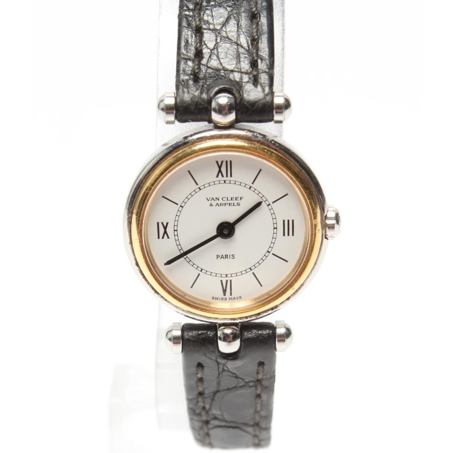 【公式】 ヴァンクリーフアンドアーペル 腕時計 ラ・コレクション 422.904 クオーツ ホワイト VAN CLEEF&ARPELS レディース, フレームワークス 99efdb0d