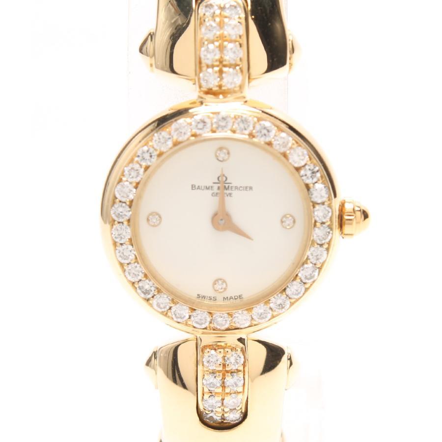 超安い 美品 ボームアンドメルシエ 腕時計 腕時計 950 クォーツ 950 16687 16687 クォーツ BAUME&MERCIER レディース, Tamao:491cdc2a --- airmodconsu.dominiotemporario.com