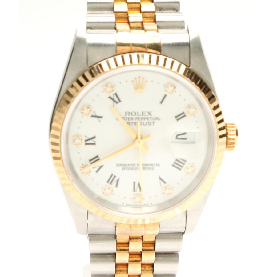 経典ブランド ロレックス 腕時計 メンズ デイトジャスト 自動巻き デイトジャスト 16233G メンズ 腕時計 ROLEX, 無添加培養土の専門店 オーロラ:7c9b3331 --- airmodconsu.dominiotemporario.com