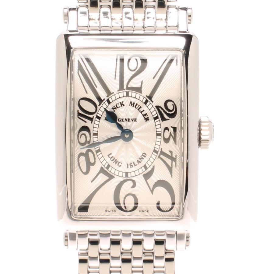 人気デザイナー 美品 フランクミュラー 腕時計 ロングアイランド ホワイト クオーツ ホワイト 902QZ フランクミュラー レディース 腕時計 FRANCK MULLER, エビノシ:8f03d212 --- airmodconsu.dominiotemporario.com