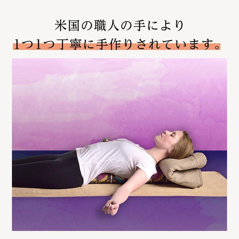 ハガーマガー ジュニアボルスター プリント 日本正規品 ボルスター 枕 呼吸 瞑想 クッション 高耐久|huggermuggerjapan|05