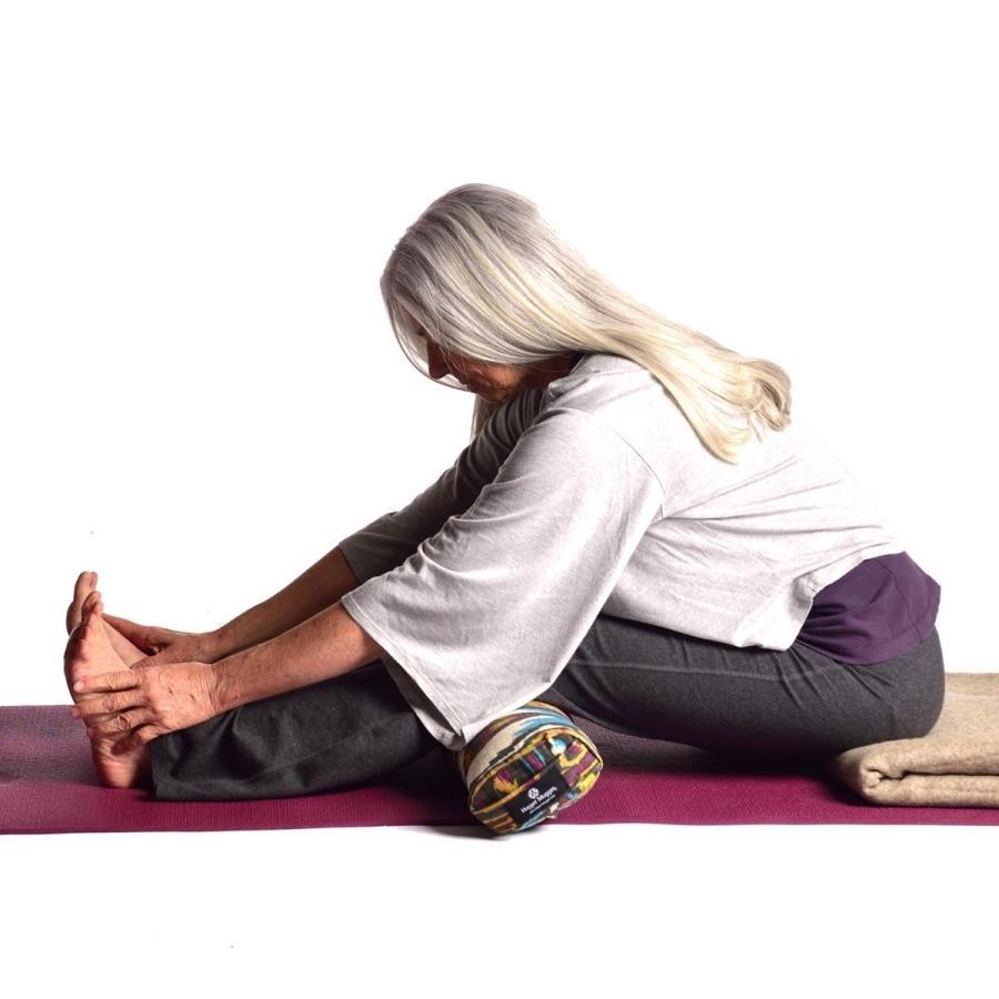 ハガーマガー プラナヤマボルスター プリント 日本正規品 ボルスター 枕 呼吸 瞑想 クッション 高耐久 huggermuggerjapan 06