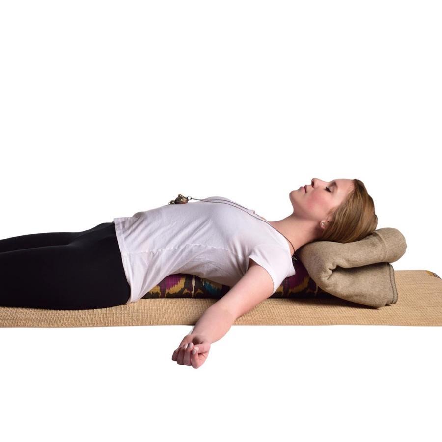 ハガーマガー プラナヤマボルスター プリント 日本正規品 ボルスター 枕 呼吸 瞑想 クッション 高耐久 huggermuggerjapan 07