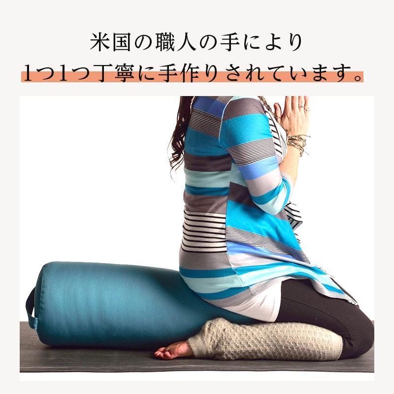 ハガーマガー ラウンドボルスター ソリッド 日本正規品 ボルスター 枕 瞑想 クッション 無地 高耐久 huggermuggerjapan 10