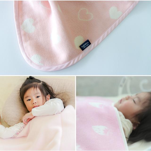 はぐまむ 綿毛布 ベビーM 日本製 三河木綿 85×115 赤ちゃん 子供 保育園 hugmamu2 17