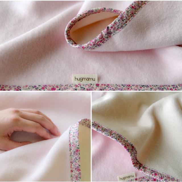 はぐまむ 綿毛布 ベビーM 日本製 三河木綿 85×115 赤ちゃん 子供 保育園 hugmamu2 18