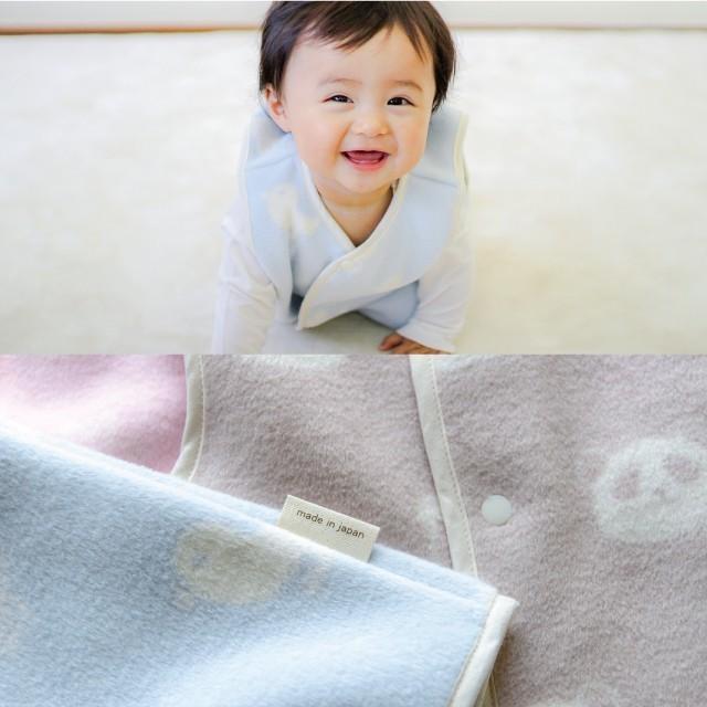 はぐまむ 綿毛布 スリーパー 新生児 ベビー ベスト 無添加 日本製 三河木綿 着る毛布 赤ちゃん 子供 秋 冬|hugmamu2|14