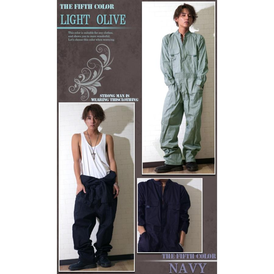 つなぎ メンズ おしゃれ ツナギ パンツ 作業服 ボトムス|hukudokoro|06