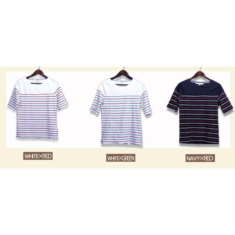 Tシャツ 3カラー メンズ Uネック B 2 Tシャツ トップス|hukudokoro|05