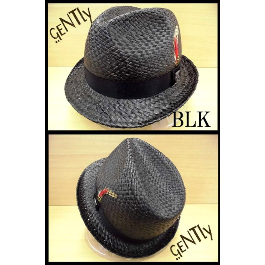 中折れハット メンズ 麦わら GEN 中折れ キャップ ストローハット 帽子|hukudokoro|06