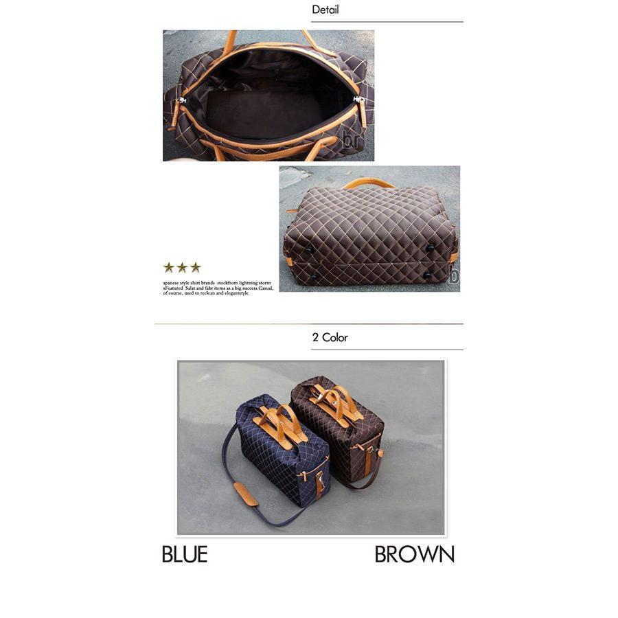 ボストンバッグ ショルダーバッグ メンズ トートバッグ ビジネスバッグ ダミエ柄 バッグ|hukudokoro|03