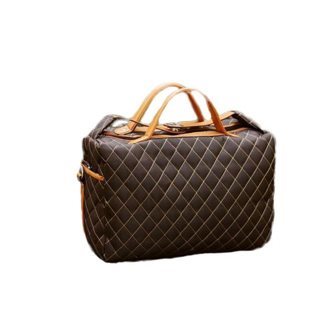 ボストンバッグ ショルダーバッグ メンズ トートバッグ ビジネスバッグ ダミエ柄 バッグ|hukudokoro|08