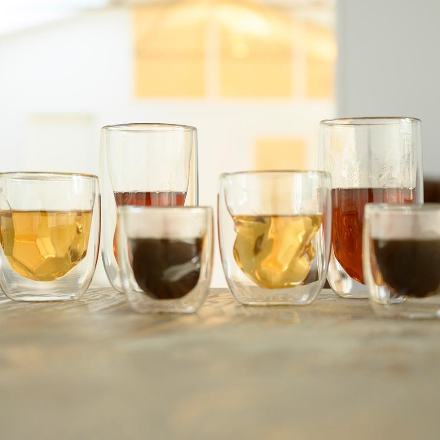 ダブルウォールグラス Qdo キュードー Element 210ml 2個セット 耐熱ガラス 保冷 保温 北欧 デンマーク 人気 インスタ映え ギフト デザイングラス 送料無料|hull-tsuhan2|02