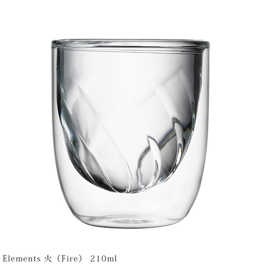 ダブルウォールグラス Qdo キュードー Element 210ml 2個セット 耐熱ガラス 保冷 保温 北欧 デンマーク 人気 インスタ映え ギフト デザイングラス 送料無料|hull-tsuhan2|04