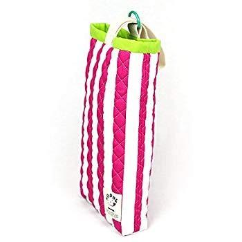 ピンクストライプ 入園入学必須2点セット レッスンバッグシューズバッグ