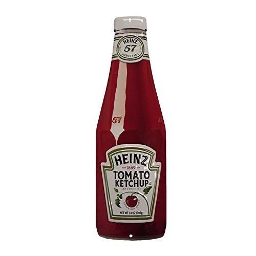 アンディ エンボスメタルサイン Heinz Bottle