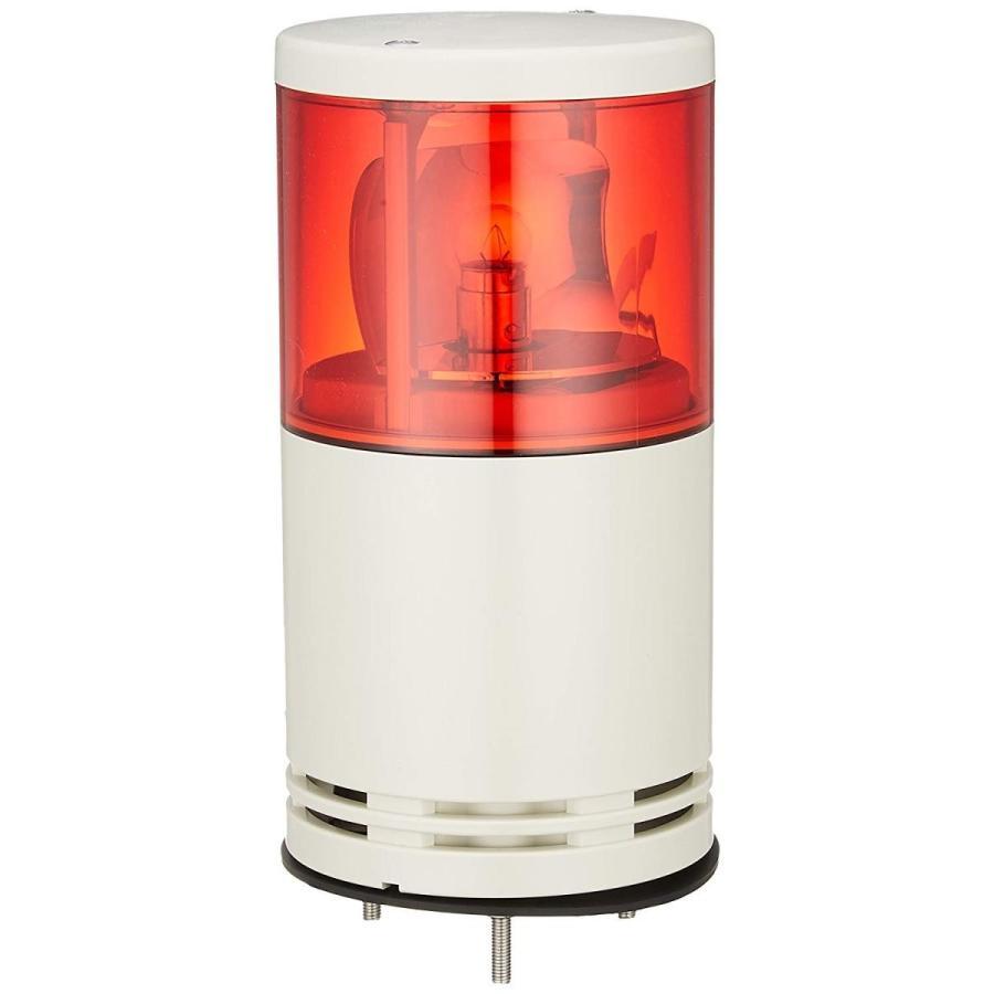 デジタル 積層式電球回転灯 アロータワーライトシリーズ 中型 UTK-24-1R