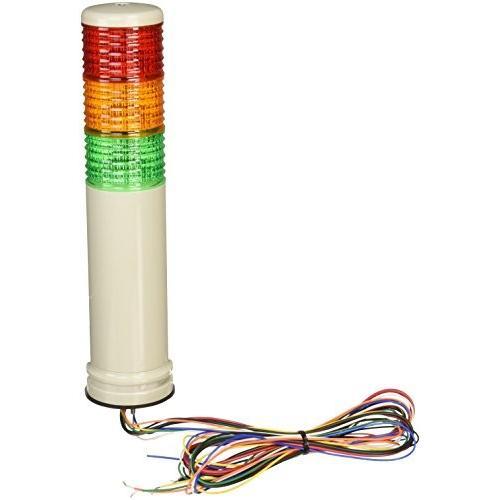 デジタル 積層式LED表示灯 アロータワーライトシリーズ 中型 超高輝度 LEUG-200-3RYG