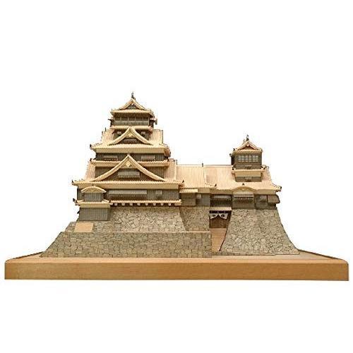 ウッディジョー 1/150 熊本城 木製模型 組立キット