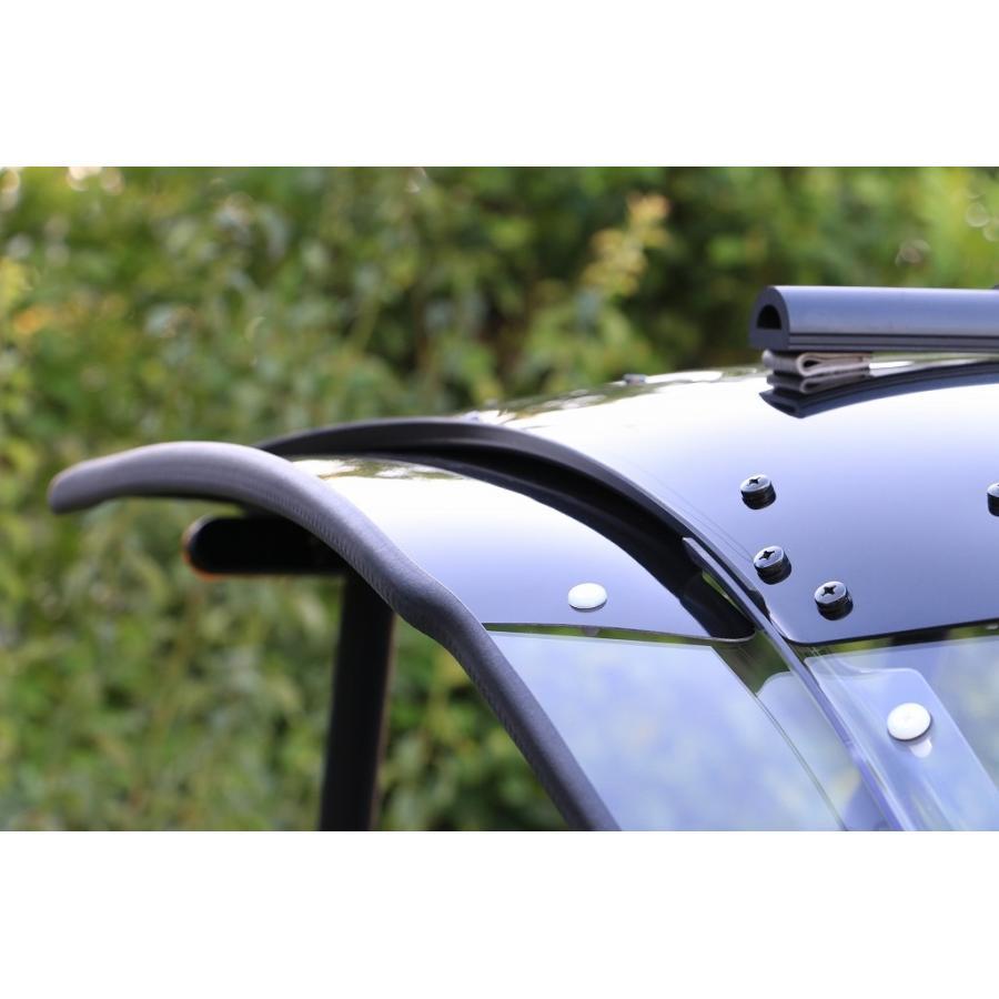 トリシティ専用ルーフキットSLRのワイドバイザー Comforty(コンフォーティ)|hvfactory|05