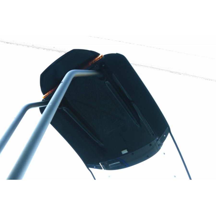 トリシティ専用ルーフキットSLRのワイドバイザー Comforty(コンフォーティ)|hvfactory|06