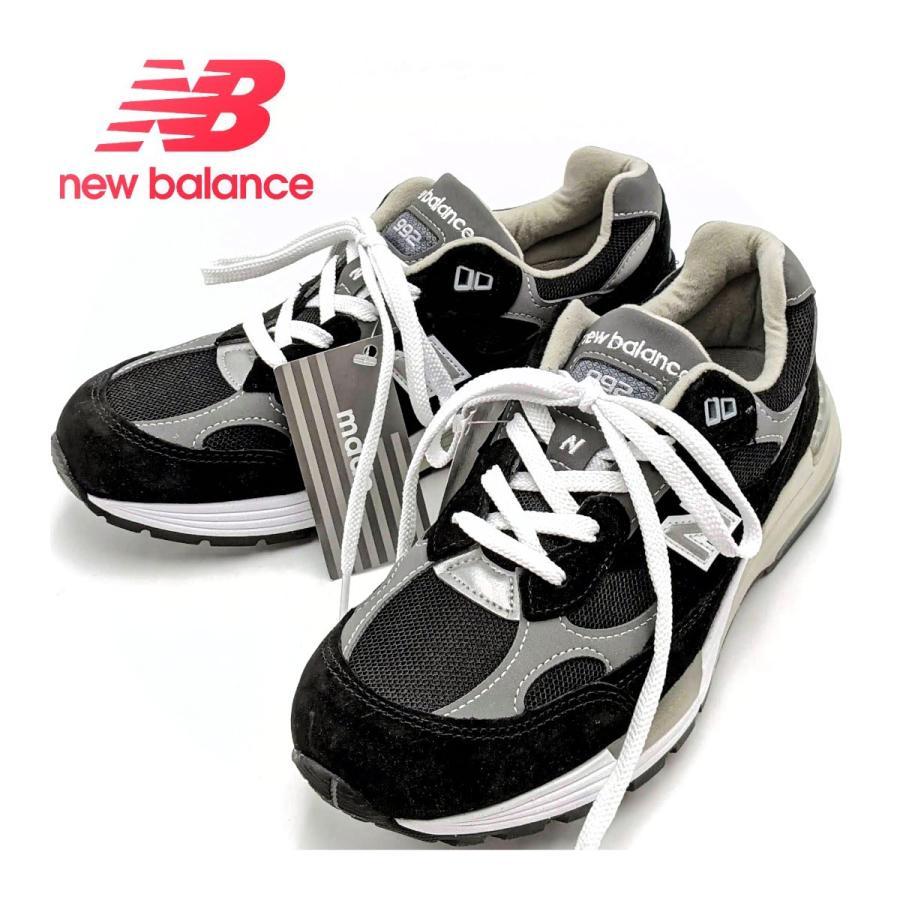26.5cm ワイズ:D ニューバランス M992EB メンズ スニーカー ブラック/グレー/BLACK/黒 New Balance USA/アメリカ製|hw-shop