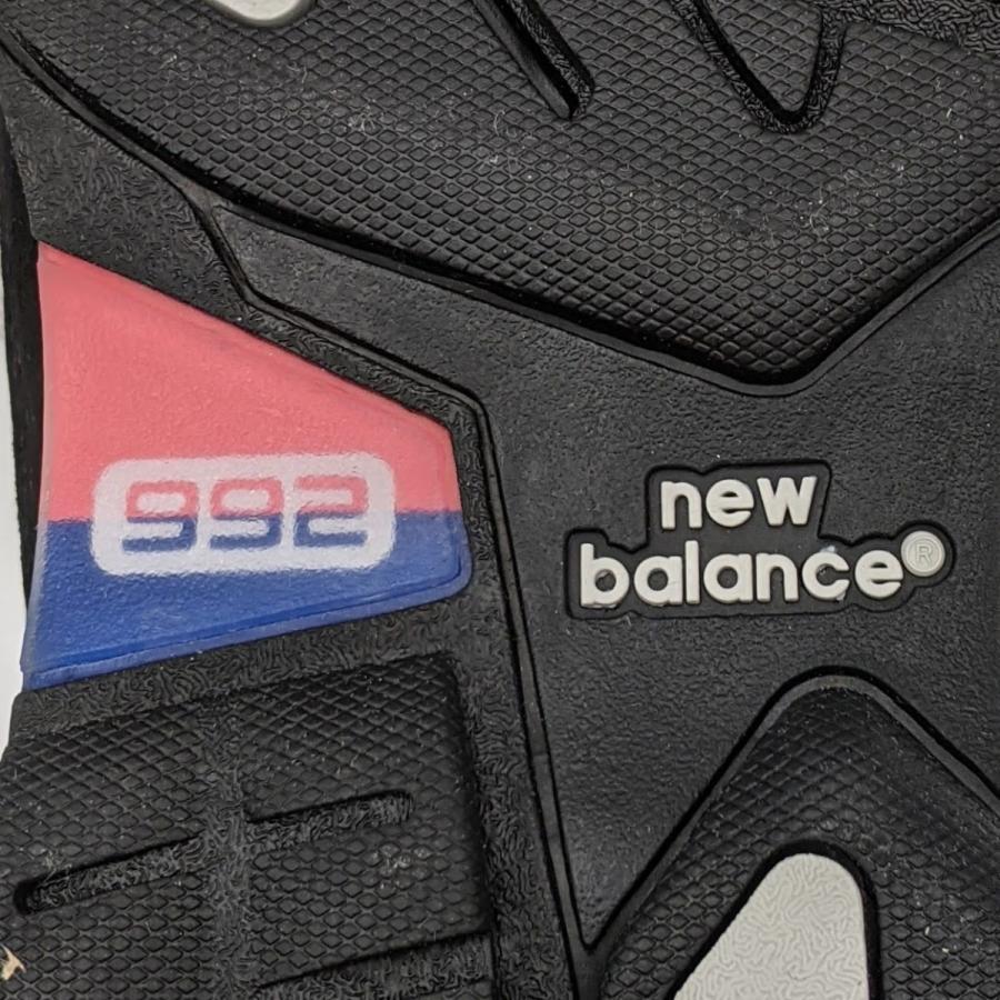 26.5cm ワイズ:D ニューバランス M992EB メンズ スニーカー ブラック/グレー/BLACK/黒 New Balance USA/アメリカ製|hw-shop|11
