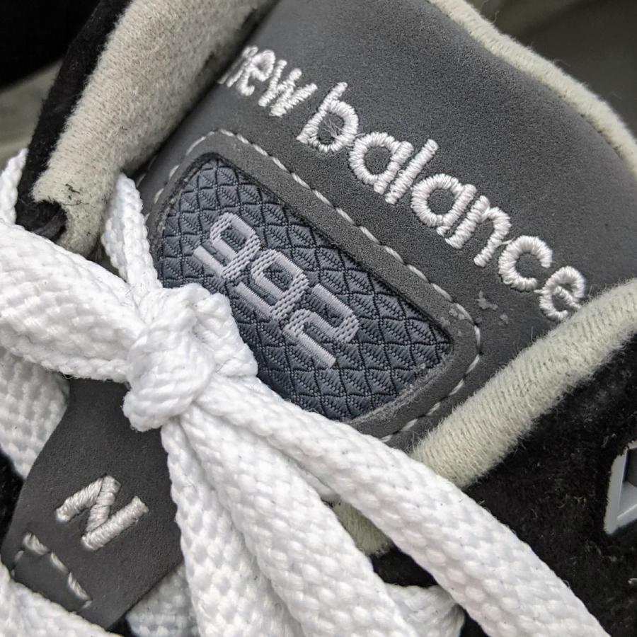26.5cm ワイズ:D ニューバランス M992EB メンズ スニーカー ブラック/グレー/BLACK/黒 New Balance USA/アメリカ製|hw-shop|06