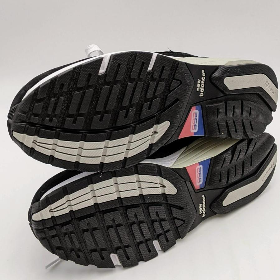 26.5cm ワイズ:D ニューバランス M992EB メンズ スニーカー ブラック/グレー/BLACK/黒 New Balance USA/アメリカ製|hw-shop|08