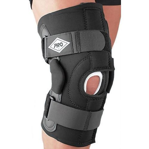 PRO Supporter(プロサポーター) 膝 サポーター ラップタイプ 左右兼用 ヒンジ装備 プロ190-J エクステンション ニーフロントオープ