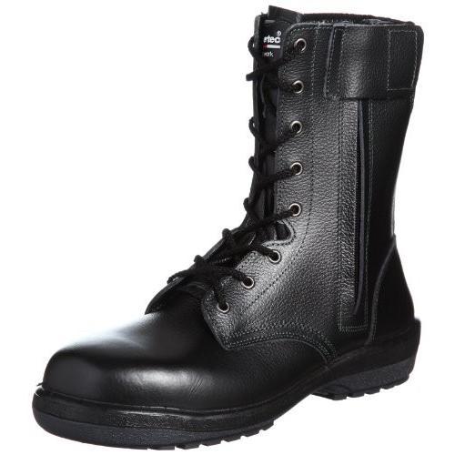 [ミドリ安全] 安全靴 JIS規格 長編上靴 ラバーテック RT730F オールハトメ メンズ ブラック 27.0(27cm)