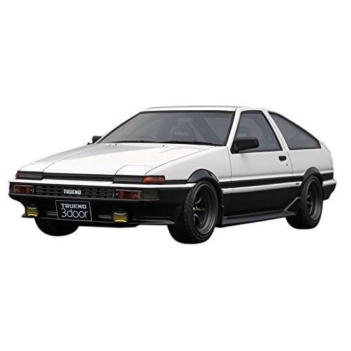 イグニッションモデル 1/18 トヨタ スプリンタートレノ 3Dr GT Apex (AE86) ホワイト IG0536 完成品