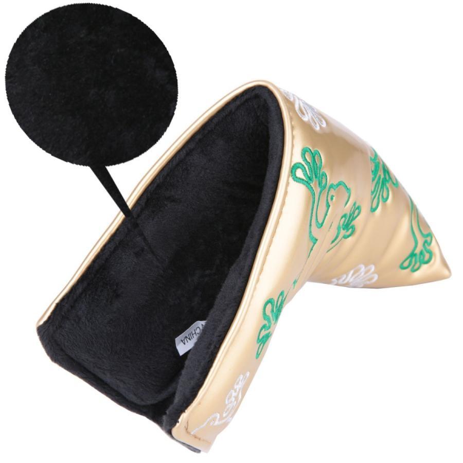パターカバー スコッティーキャメロン適合 ピンタイプ オデッセイに適合 カエル刺繍  送料無料|hymall|07