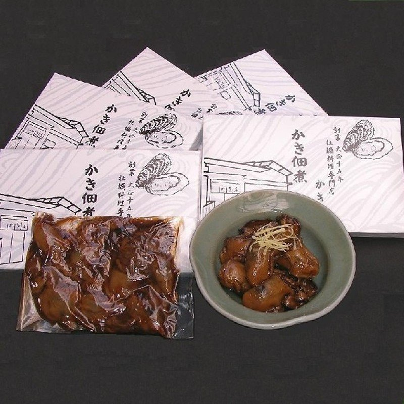 「かき庄」兵庫県産牡蠣 かき佃煮(5箱)|hyogo-tokusanhin|02