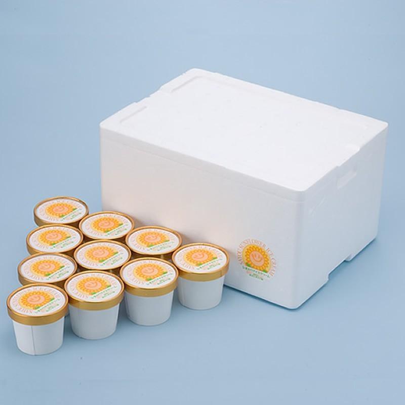 「元気工房さよう」ひまわりアイスクリーム 10個セット(冷凍)|hyogo-tokusanhin