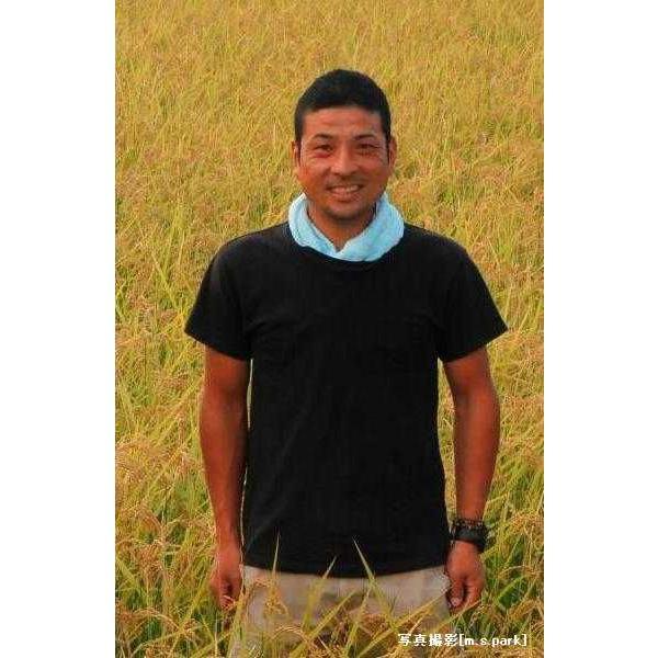 「西垣農園」こうのとり物語 夢ごこち 白米5kg(自然農法米 農薬不使用) hyogo-tokusanhin 02