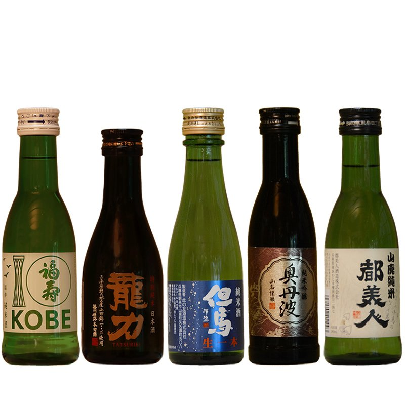「ひょうごふるさと館」神戸酒類販売 兵庫五国飲みくらべセット(912-156) hyogo-tokusanhin 05